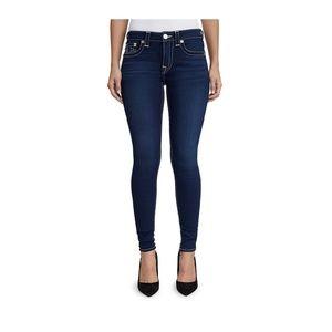 True Religion Jeans Sz 31 Jennie Curvy Skinny
